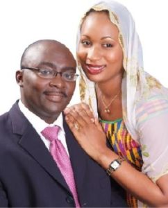 Dr. and Mrs. Bawumia before their ascent to power (credit: ghanapoliticsonline.com)